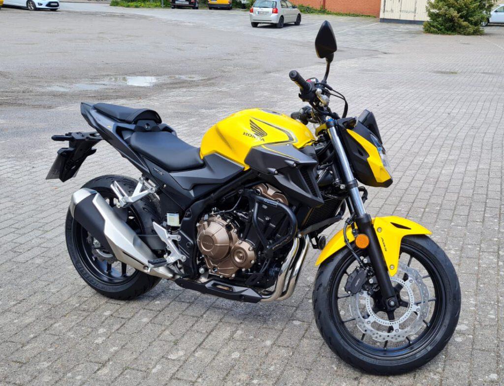 Motorrad Klasse A2